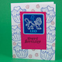 Zodiac Sign Birthday Card