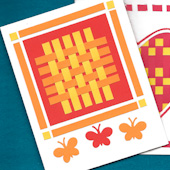 Paper Weaving Cards