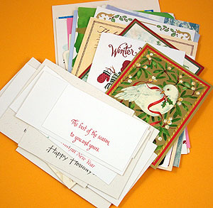 Make Recycled Greeting Cards Tutorial - Greeting Card Class