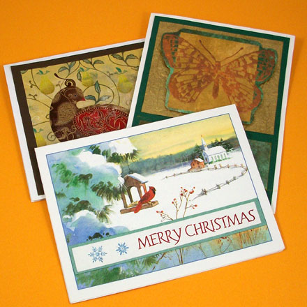 Art Projects With Old Christmas Cards