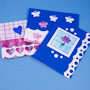 Scalloped edge cards