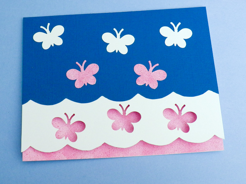 Pleasant Card Making Idea Scalloped Edge Card Tutorial Greeting Card Funny Birthday Cards Online Inifofree Goldxyz