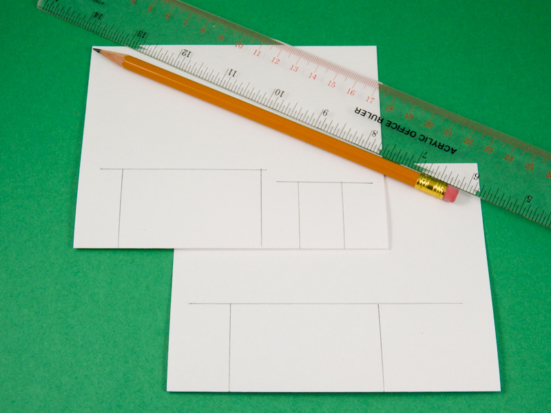 Card making idea step pop up card tutorial greeting card class 2 draw lines for pop up step platforms m4hsunfo
