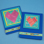 Strip Folding Heart Card