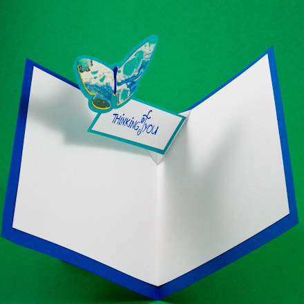 card making idea vfold popup birthday card tutorial  greeting, Greeting card