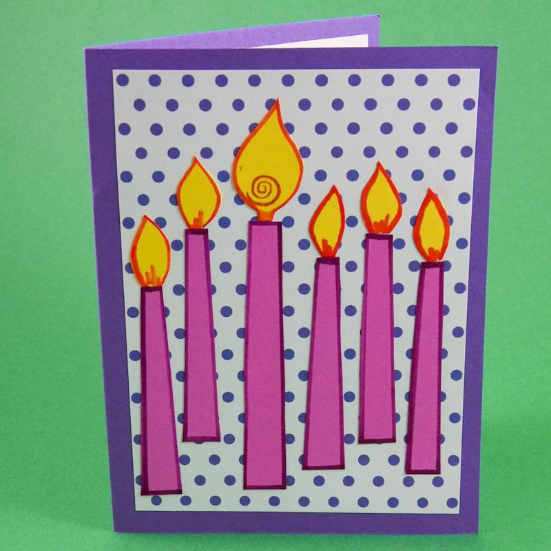 V Fold Pop Up Birthday Card Tutorial