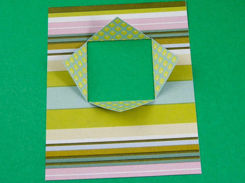 Card Making Idea Tutorial Window Cards Using Double Sided