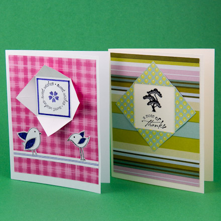 Card making idea tutorial window cards using double sided paper card making idea tutorial window cards using double sided paper greeting card class 2 aunt annies crafts m4hsunfo
