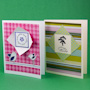 Double-sided Paper Window Card tutorial