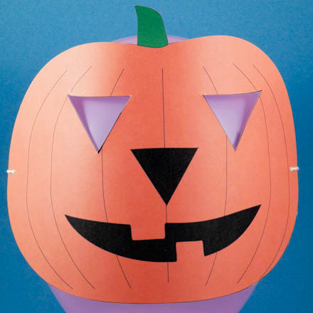 Decorate for Halloween (and make a mask) with Paper Cutouts ...