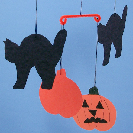 Paper Halloween Crafts For Toddlers