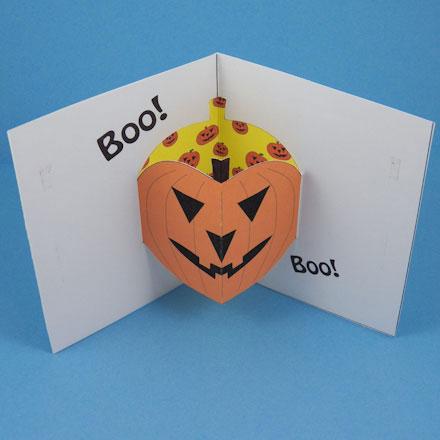 Halloween Pop Up Cards Templates.Make A Halloween Pop Up Card Halloween Crafts Aunt
