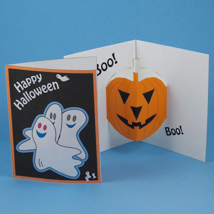 Are You Ready Okay Get Started Halloween Pop Up Cards