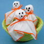 Colorful Tissue Ghosts