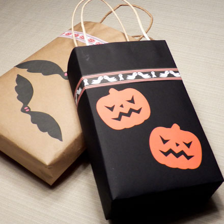 How To Make Easy Trick Or Treat Bags Halloween Crafts Aunt