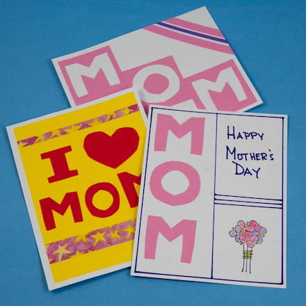 Easy Mother S Day Cards