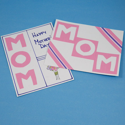 Easy Mother S Day Cards Cutouts And Cutaways