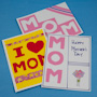 Easy Mother's Day Cards with cutouts