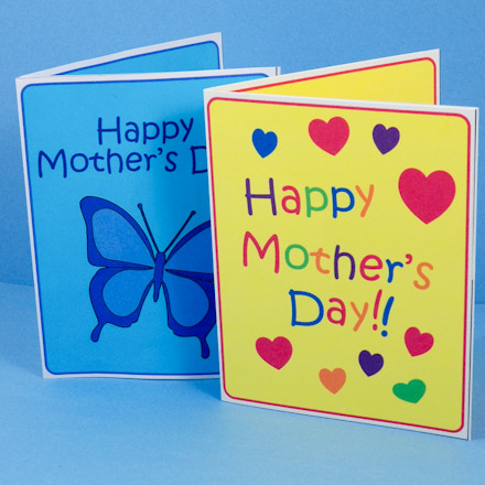 Are You Ready Okay Get Started Fronts Of Mother S Day Pop Up Cards