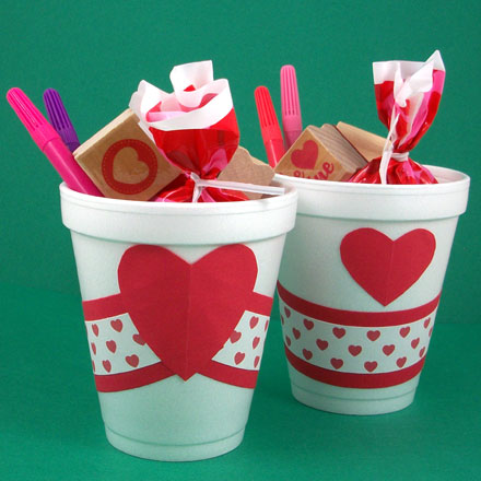 How To Make Paper Cup Party Favors