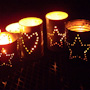 Recycled Tin Can Candler Holder Luminaries