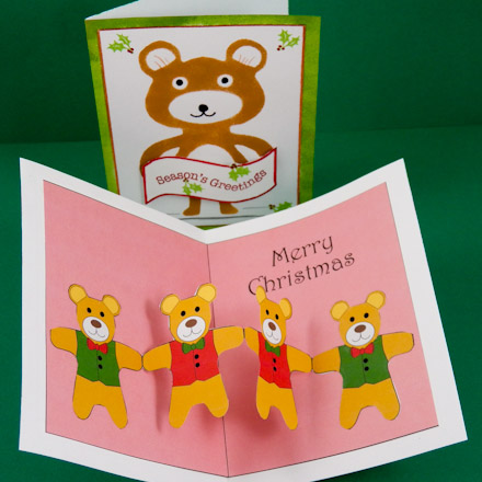 How to Make Christmas Pop-Up Cards - Pop-Up Cards - Aunt Annie\'s Crafts