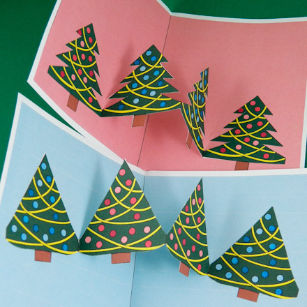 How to Make Christmas Pop-Up Cards - Pop-Up Cards - Aunt Annie's ...
