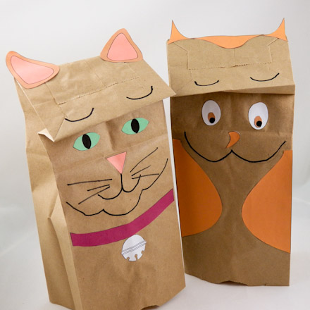 How to Make a Paper Mache Cat, Lesson #4 - Sculpting the Face ... | 440x440