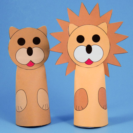 How To Make Paper Cone Finger Puppets Puppets Around The World
