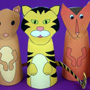 Paper Cone Finger Puppets
