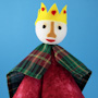 Foam Ball King Hand Puppet