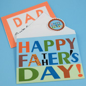 Father's Day envelope
