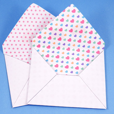 Envelopes Made With Decorative Paper