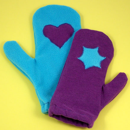 How to Make Mittens from Sweatpants - Needle and Thread ...