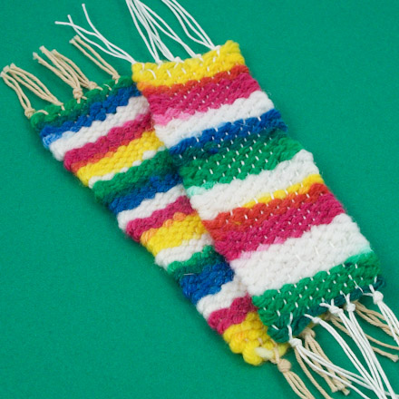 Craft project: Handwoven bookmark