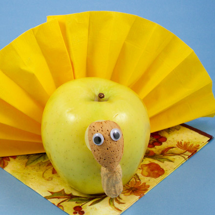 Yellow Apple Pictures Apple Turkey Made From Yellow