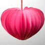 3-D Valentines to decorate homes or classrooms.