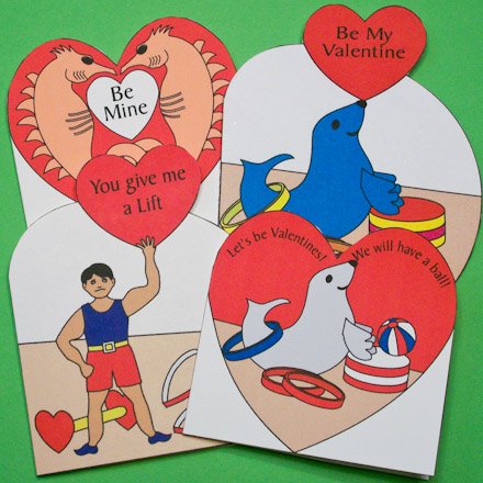 how to make heart shaped cards project valentine s day crafts